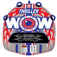 "WOW THRILLER DECK TUBE TOWABLE, 54""  x 54"", 1-Rider"