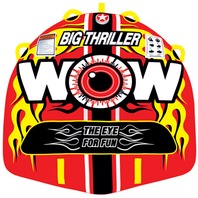 "11-1070 WOW BIG THRILLER DECK TUBE, 66""  x 62"", 1 or 2-Rider Towable"