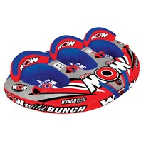 "WILD BUNCH COCKPIT TOWABLE-Wild Bunch Tube, 100"" x 66"", 1-3 Riders"