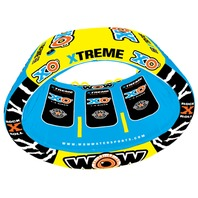 XO XTREME TOWABLE-XO Xtreme Tube w/EZ Tow Connector,  84  x 70  x 64 , 1, 2 or 3-Rider