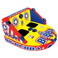 13-1080 BIG BUBBA 2-WAY TOWABLE-Big Bubba Tube, 66  x 60, 2-Rider