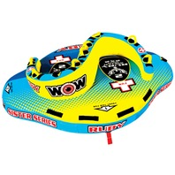 """Ruby Sister Series Towable Tube, 90"""" x 70"""" x 24"""",  2-Rider"""