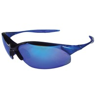 RAD-INFINITY PROTECTIVE EYEWEAR-Blue Mirror Lens/Blue Frame