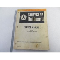 OB3788 8/81 Chrysler Outboard Service Manual 55 HP