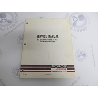 OB3869 Mercury Force Chrysler Outboard Service Manual 9.9/15 HP 250 Sailor