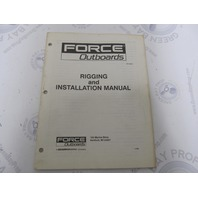 OB4553 Force Outboard Rigging & Installation Manual 35-150 HP
