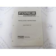 OB4613 Force Outboards 5H244 Power Tilt Installation Manual