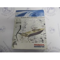 2011 Outboard Rigging Guide Manual for Honda Marine