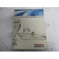 2005 Outboard Rigging Guide Manual for Honda Marine