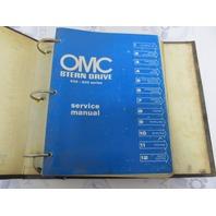 SDL-1091 OMC Stern Drive Service Manual 400-800 Series 120-260 Model
