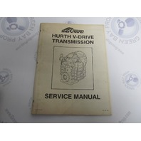 SIS-1036 390 Mercruiser Hurth V-Drive Transmission Service Manual