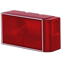 SP8RBW-ER13 Sierra Dry Launch Boat Trailer Red Submersible RIGHT Tail Light