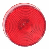 """V146R Peterson Boat Trailer Round 2"""" Red Sealed Clearance Side Marker Light"""