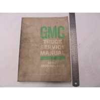 X-6932 1969 GMC Truck Service Manual Series 1500-3500