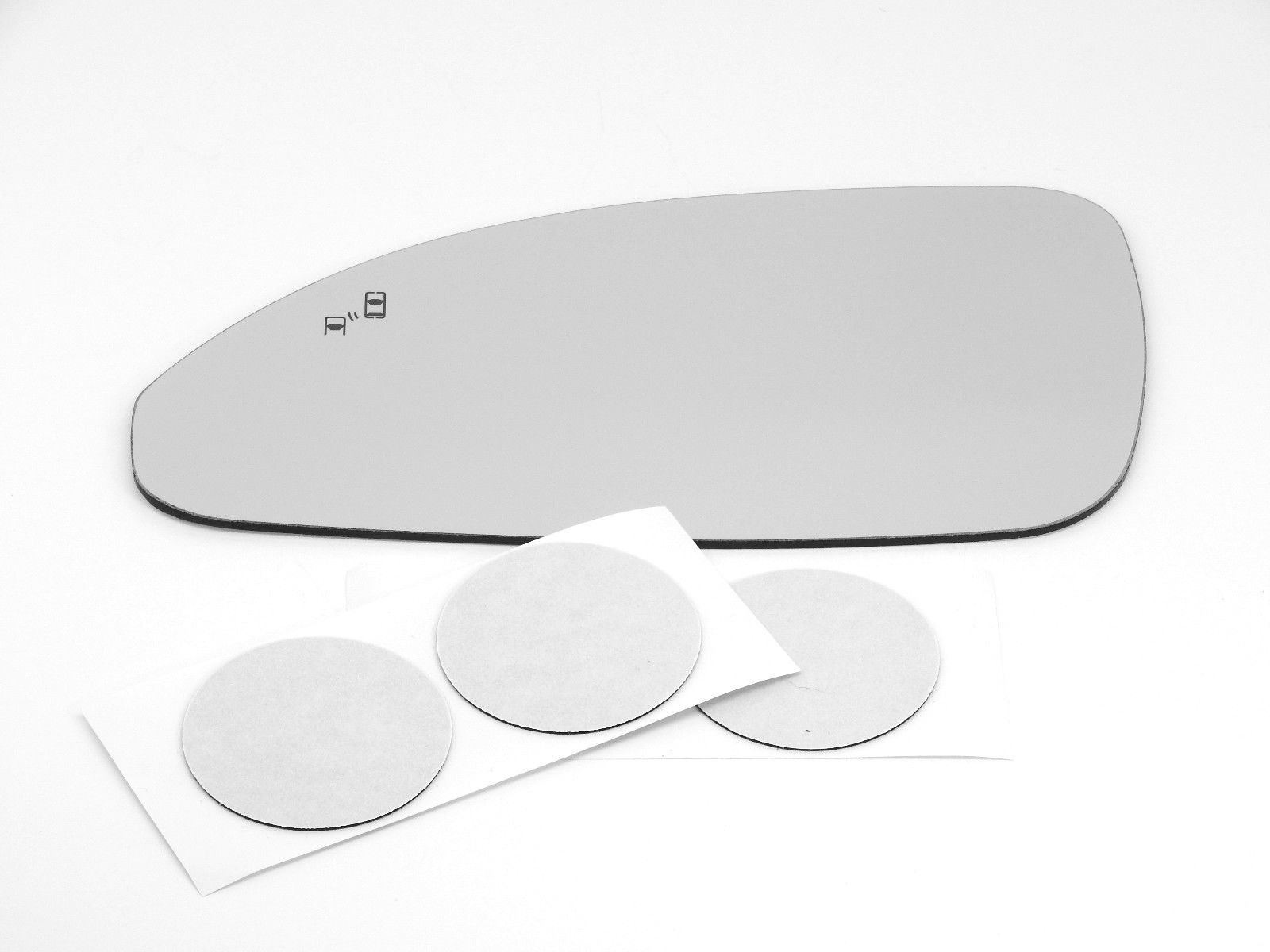 Fits 13-17 Enclave Left Driver Mirror Glass Lens Only w/ Blind Spot Detect for non Auto Dim Type Only