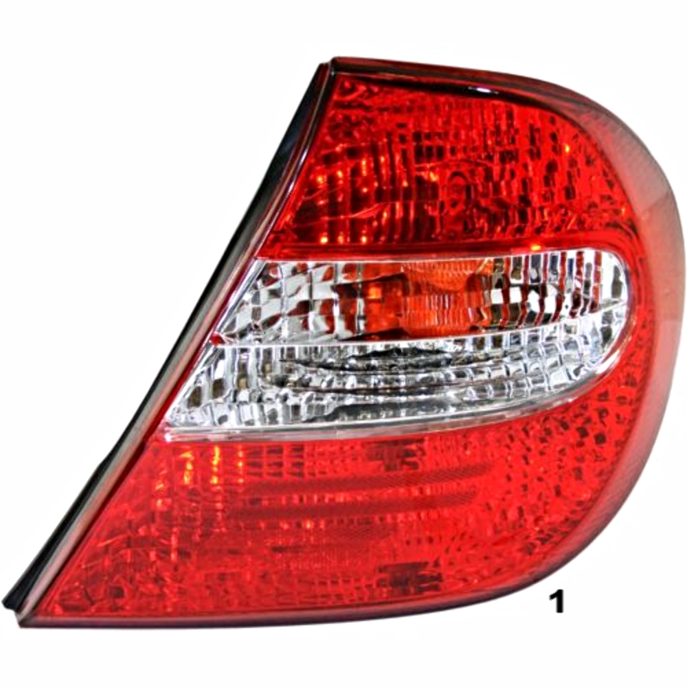 fits 02 04 toyota camry right passenger tail lamp assembly busted auto parts. Black Bedroom Furniture Sets. Home Design Ideas