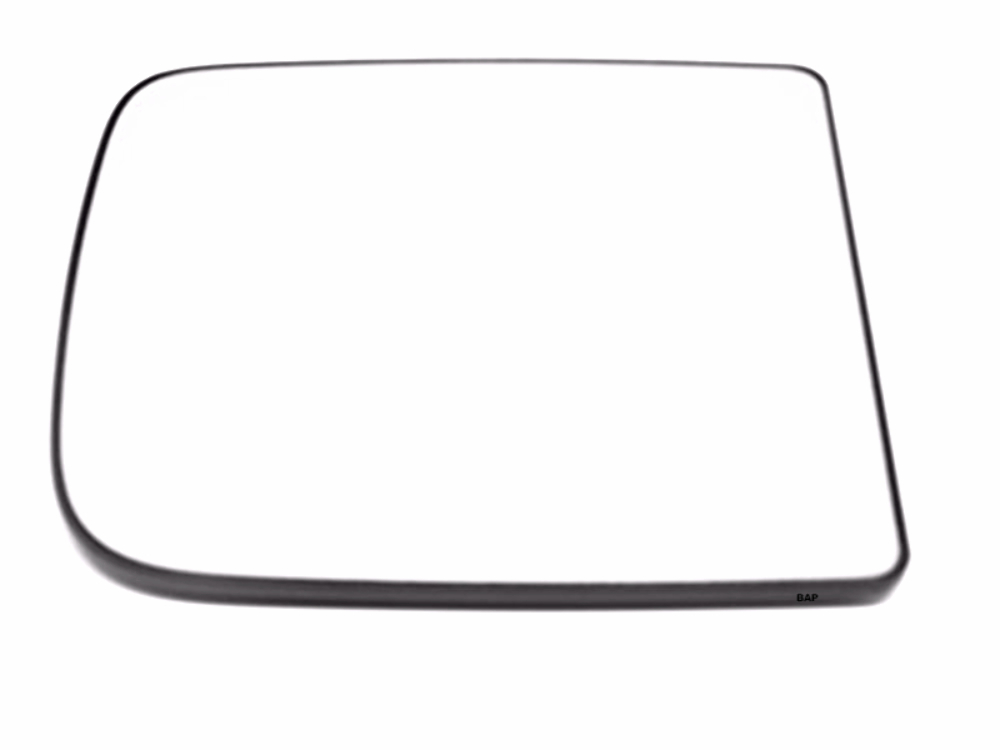 Fits 09-12 Ram1500  10-18 2500, 3500 Right Upper Tow Mirror Glass w/Rear Holder