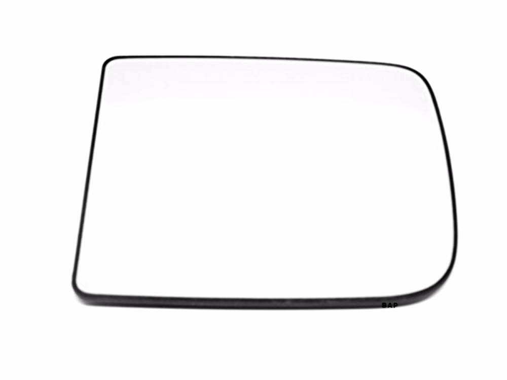 Fits 09-12 Ram 1500 Left Driver Upper Tow Mirror Glass w/ Rear Backing Plate OE