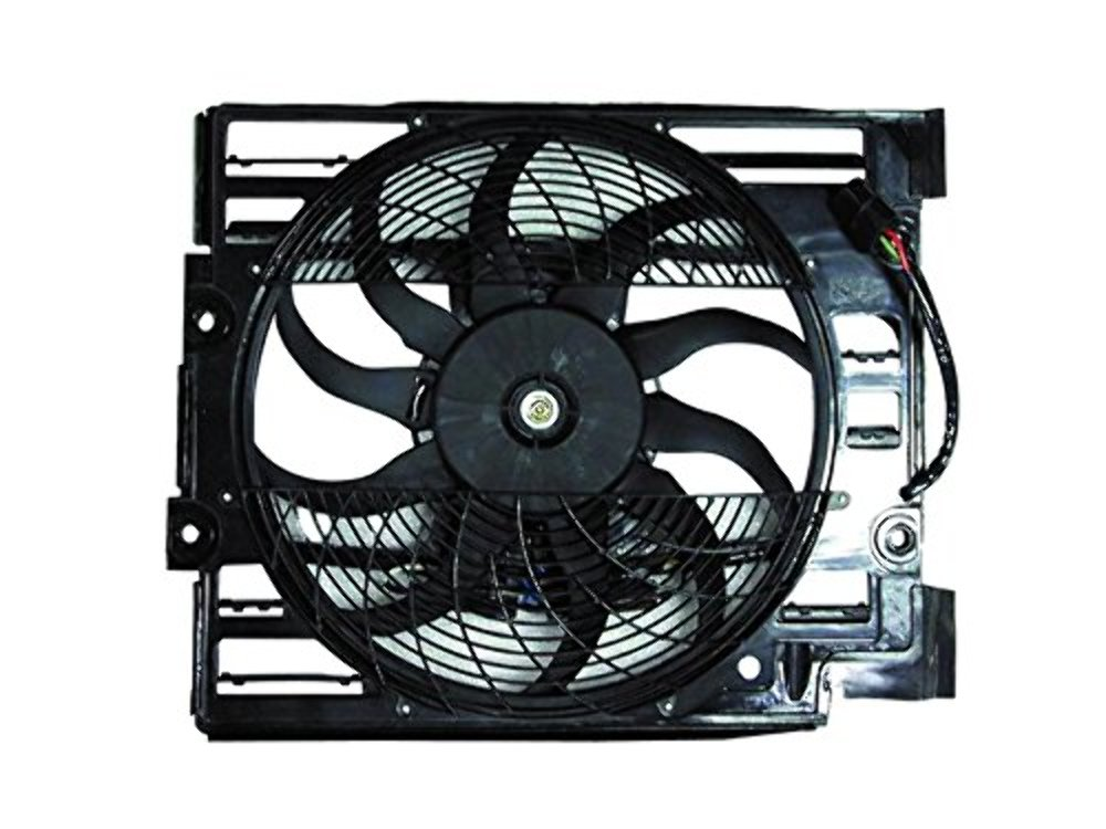 A/C Condenser Fan Assembly for 97 98 BMW  528i / 540i