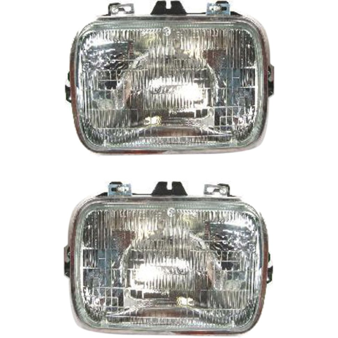 Left & Right Set Sealed Beam Type Headlights Fits  Various Chevy, Gm Vehicles OE #25949657 see details