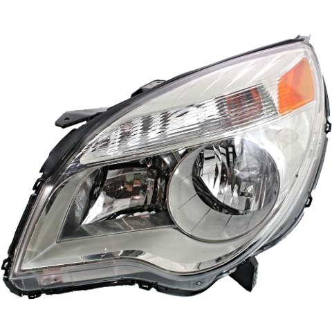 Fits 10-15 Chevy Equinox Left Driver Halogen Headlamp Assem W/Projector Beam