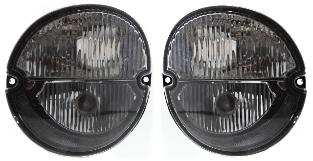 Fits 04-08 Grand Prix; 06-10 Solstice L & R Park/Signal Lamp Assys w/Fog Lamps