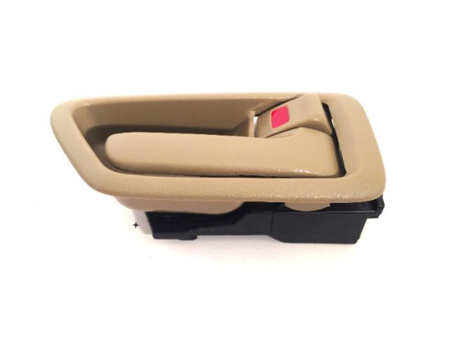Fits 97-01 Camry Right Pass Side Front / Rear Interior Door Handle w/ Bezel Tan