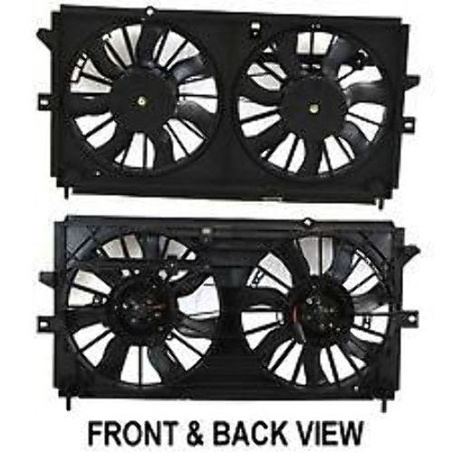 Radiator Cooling Fan Assm 00-03 Monte Carlo Impala w/o Heavy Duty Cooling