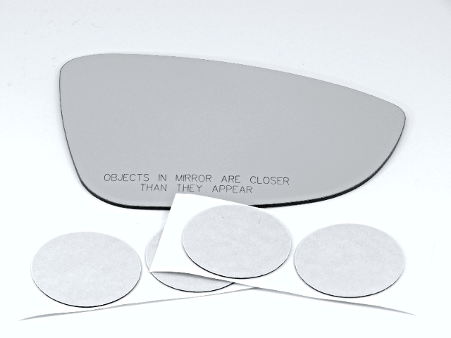 Fits 11-15 Jetta, (2 Style Type) Right Mirror Glass Lens excludes Station Wagon