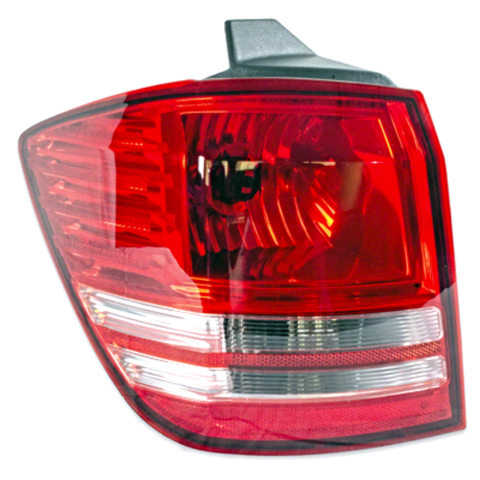 Fits 2009 Dodge Journey Left Tail Light / Lamp Assembly non LED Qtr Body Mounted