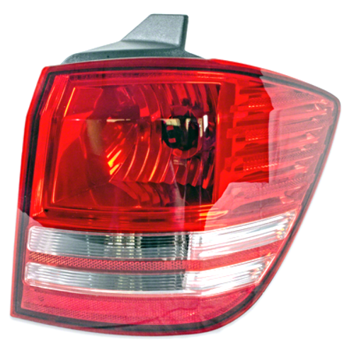 Fits 2009 Dodge Journey Right Tail Light / Lamp Assembly no LED Qtr Body Mounted