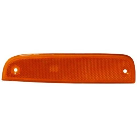 Fits 97-01 Cherokee Right & Left Side Marker Lights New Aftermarket Amber Color