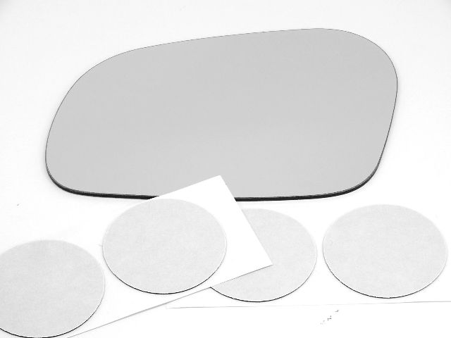 Bap H Continental Left Driver Mirror Glass Lens Heated Models W O Auto Dim Type