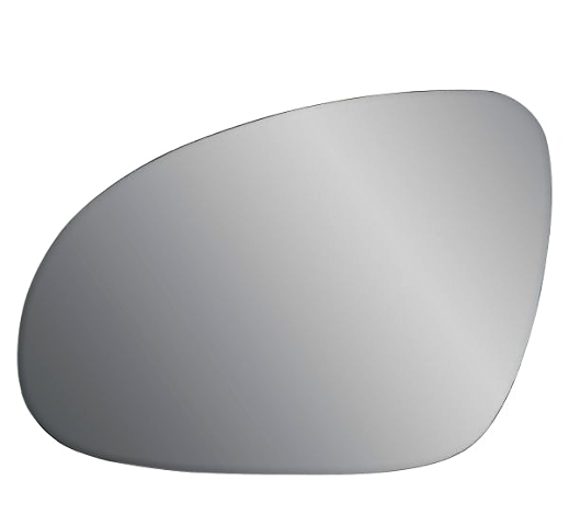 Heated Left Driver Mirror Glass w/Rear Holder for 11-14 VW Jetta Station Wagon