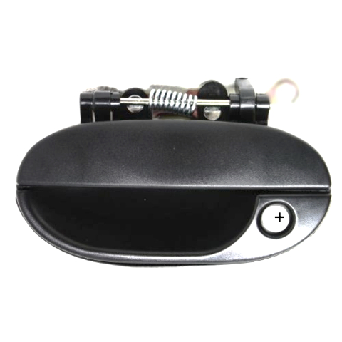 Fits Late 97-99 Hy Accent Left Front Driver Outside Door Handle Textured Black