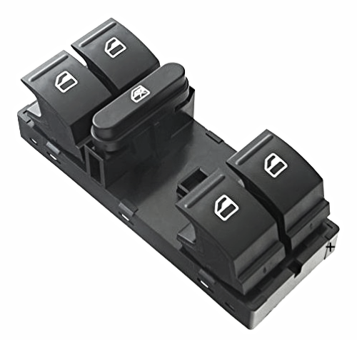 Window Switch Left Driver Master 5 Button 7 Pin Various VW Models see Details