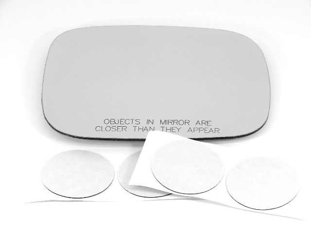 Fits 07-*10 Volvo XC70, XC90 Right Pass Convex Mirror Glass Lens    *2 Options