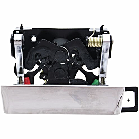 Chrome Tailgate Rear Handle w/ Keyhole Fits Silverado, Sierra ( 07*-13) (14)