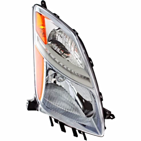 Fits Prius From 11/05 - 09 Right Pass Side Headlight Assembly Halogen Type