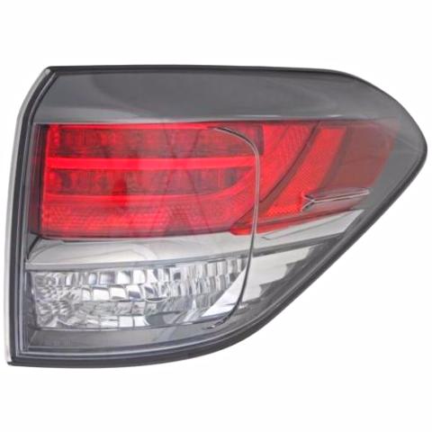 Fits 13-15 Lexus RX350 RX450H Right Pass Tail Lamp Quarter Mounted - Japan Built