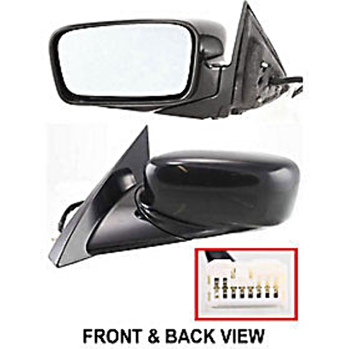 04 06 Acura Tl: Fits 04-06 Acura TL Left Driver Power Mirror Unpainted