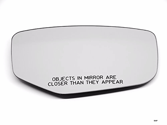 Fits 13-17 Accord Right Pass Mirror Glass w/Rear Holder for Models w/out Heat