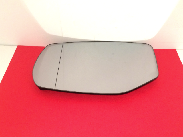 Fits 17-19 Acura MDX Left Driver Heated Mirror Glass Clear w/Rear Holder OE w/out  Auto Dim
