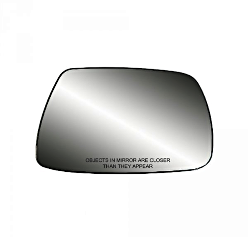 Fits 05-10 Grand Cherokee Right Pass  Mirror Glass  w/Rear Back Plate