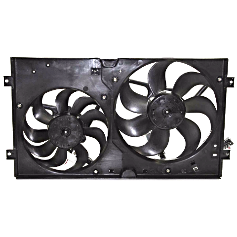 Dual Cooling Fan Assembly Fits for 98-05 Beetle