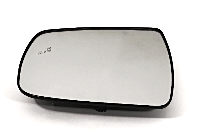 Fits 14-15 Sorento Left Driver Mirror Glass w/Rear Holder w/Blind Spot Heated OE