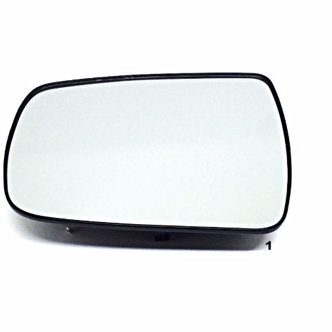 Fits 14-15 Sorento Left Driver Mirror Glass w/Rear Holder, w/Blind Spot, Heated