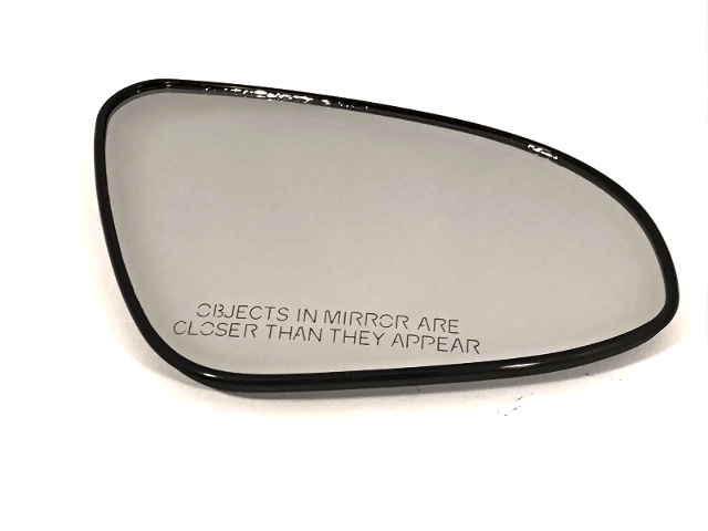 Right Pass Side Heated Mirror Glass w/Rear *Backing Plate for 12-15 Toy Camry OE