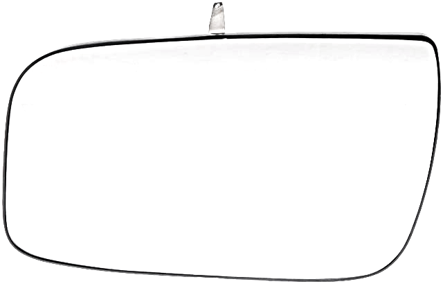 Fits 08-09 Ford Taurus Left Driver Mirror Glass  w/ Rear Back Plate OEM