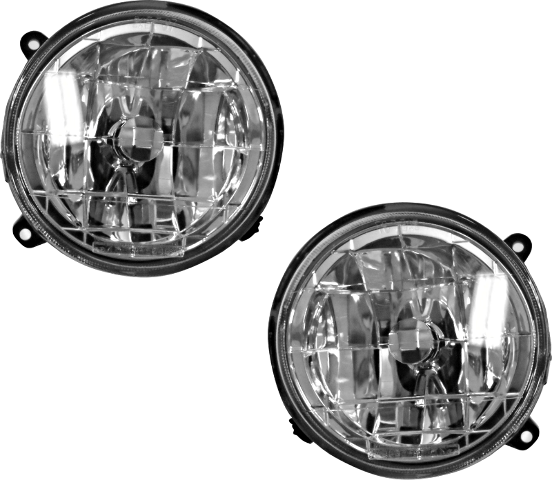 Fits 02-03 Sub Impreza / Outback Sport Left Driver Right Pass Fog Lamps - Pair